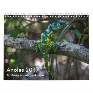 Anoles 2017 - En Anole annalerproduktion Kalender