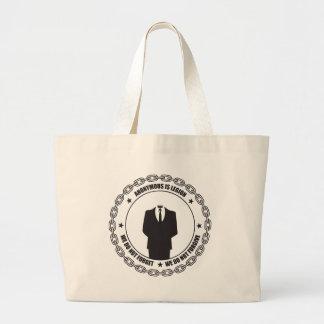 Anonym är legionen tygkasse