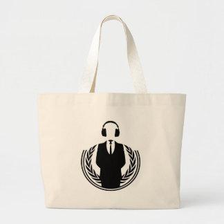 Anonym DJ Tote Bags