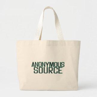 Anonym källa tygkasse