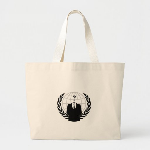 Anonym logotyp tote bag