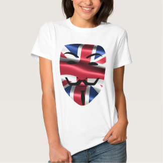 Anonym skjorta för UK T Tee