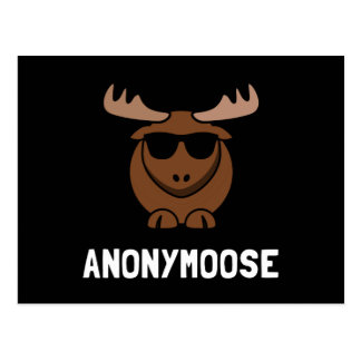 Anonymoose Vykort