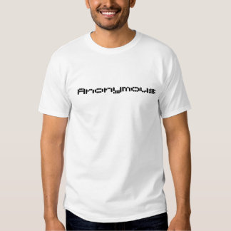 Anonymt enigt tshirts