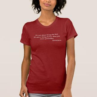 Anonymt vara ditt bäst citationstecken tröja
