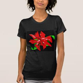 Anpassade för julblommaT-tröja T-shirt