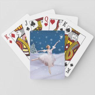 Anpassade för snödrottningBallerina Casinokort