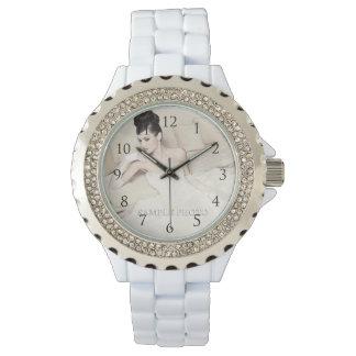 Anpassade som ditt foto Watch_With numrerar Armbandsur
