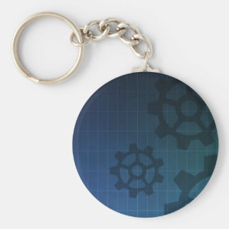 Anpassade som iscensätter nyckelringen rund nyckelring