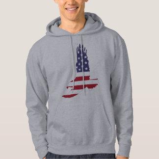 Anpassadeamerikanska flagganörn munkjacka
