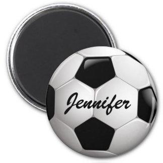 Anpassadefotbollboll Magneter