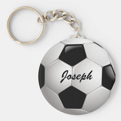 Anpassadefotbollboll Nyckelring