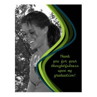 Anpassadefoto - studententackkort vykort