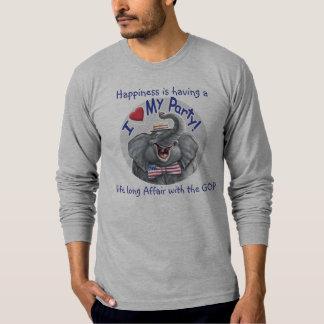 Anpassademall - jag älskar min GOP Tshirts