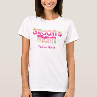 Anpassademor av brudgummen t-shirt