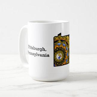 AnpassadePittsburgh Pennsylvania mugg