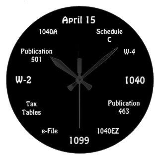 Anpassaderevisorn tar tid på - skattstämpeluret stor klocka