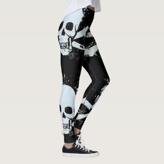 anpassadeskalledamasker leggings