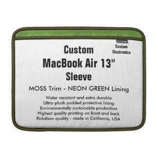 """Anpassningsbar 13"""" Moss för MacBook luftsleeve Sleeve För MacBook Air"""