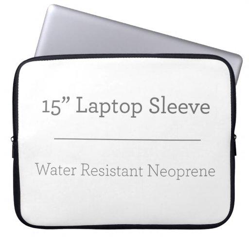 Neoprene Laptop Sleeve 38 cm