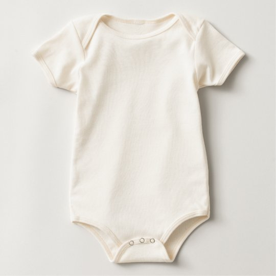 Baby American Apparel Ekologisk Body, Natur