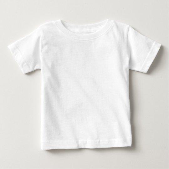 Baby Fin Jersey T-Shirt, Vit