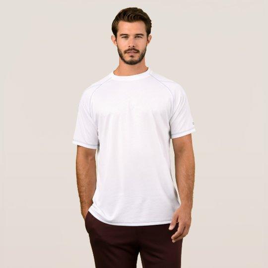 Champion Double Dry Mesh T-Shirt, Herr, Vit