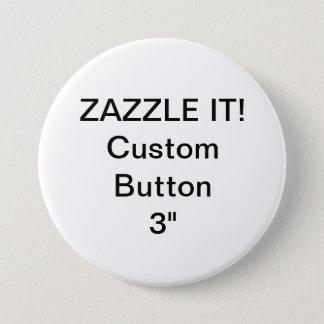 """Anpassningsbar 3"""" knäppas emblem klämmer fast den mellanstor knapp rund 7.6 cm"""