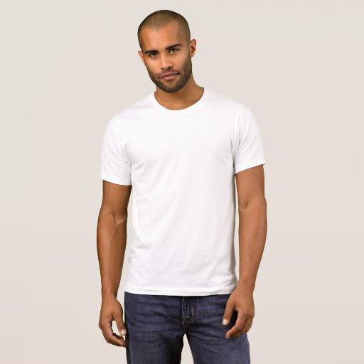 Alternative Apparel Basic Crew Neck T-Shirt, Herr, Vit