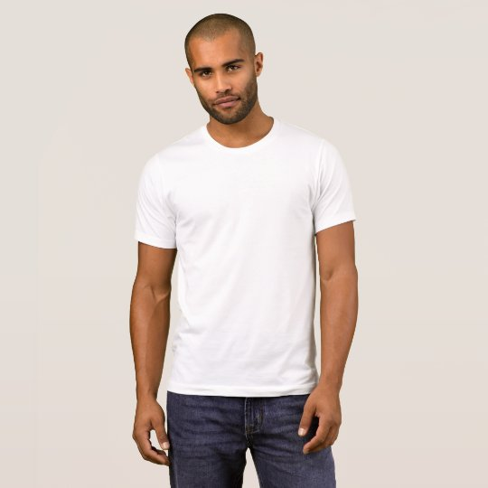 Alternative Apparel Basic Crew Neck T-Shirt, Herr, Vit