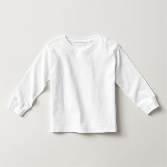 Småbarn Långärmad T-Shirt, Vit