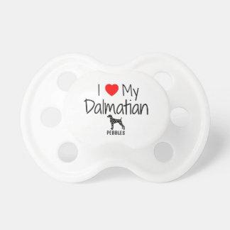 Anpassningsbar älskar jag min Dalmatian Napp