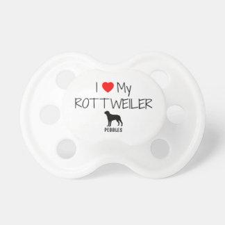 Anpassningsbar älskar jag min Rottweiler Napp