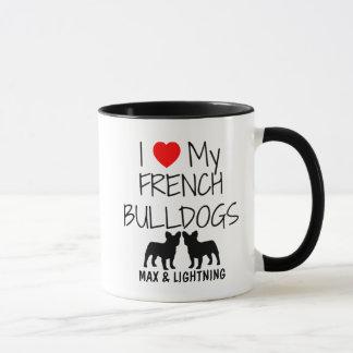 Anpassningsbar älskar jag min två franska