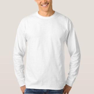 Anpassningsbar broderad långärmadskjorta