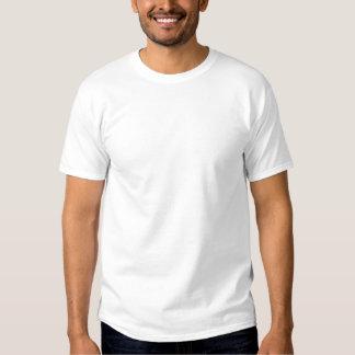 Anpassningsbar broderad skjorta