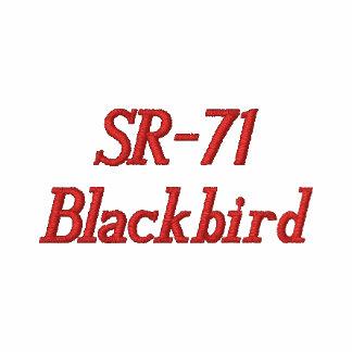 Anpassningsbar broderad T-tröja SR-71 (M)