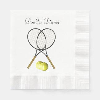 Anpassningsbar för dubblatennissport servetter
