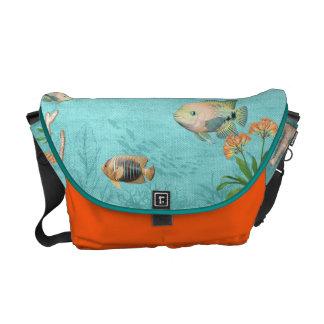 anpassningsbar för messenger bag för havslivfisk