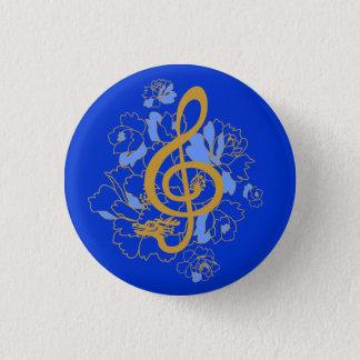 Anpassningsbar för musik för pioner för mini knapp rund 3.2 cm