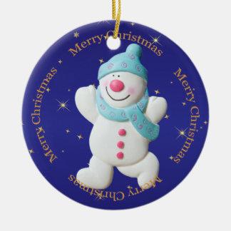 Anpassningsbar för prydnad för träd för Babys Julgransprydnad Keramik