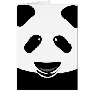 Anpassningsbar för tack för Pandabjörn modern OBS Kort
