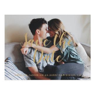 Anpassningsbar fotograferar romantisk modern spara vykort