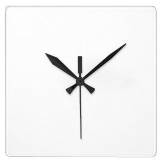 Anpassningsbar Fyrkantig Wall Clock Fyrkantig Klocka