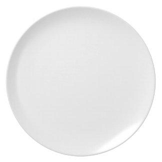 Anpassningsbar Melamine Plate Tallrik