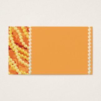 Anpassningsbar prydd med pärlor visitkort