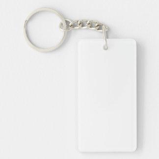 Anpassningsbar Rectangular Nyckelring