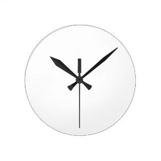 Anpassningsbar Rund Wall Clock Medium Rund Klocka