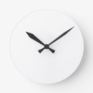Anpassningsbar Rund Wall Clock Rund Klocka