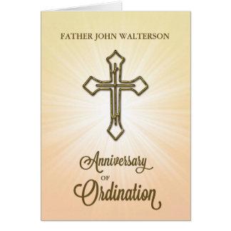 Anpassningsbarnamn, 65eårsdag av prästvigningen, hälsningskort